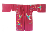 Click on the text under the thumbnail image to access the enlarged phoenix kimono.