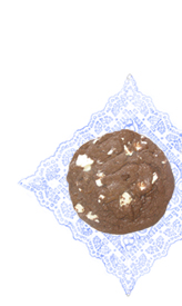 graphic of big chocolate cookie