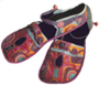 "This is a thumbnail image of a pair of handmade shoes called ""magic Shoes""."